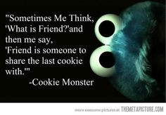 Static Themetapicture Media Funny Cookie Monster Quote Love