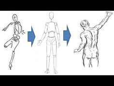 Figure Drawing Lessons 5/8 - Drawing The Manikin (Mannequin) Figure
