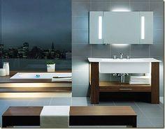decoración moderna para baños grandes-l