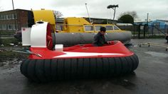 Marlin III hovercraft off to Finland