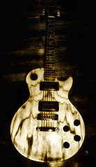 Music Art - Les Paul Guitar  by Bill Cannon