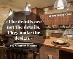 «The details are  not the details. They make the design.» (c) Charles Eames #furniture #furnishings #furnituredesign #furnituremakeover #furniturestore #interior #interiordesign #home #homedecor #homedesign #homedecorating #homedecorideas #design #decor #decorideas #layout #house #beautifulinteriors #dreamhome #decoraccents #decortips #designtips #shopping #shoppingonline #onlineshopping #ipopstores