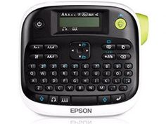 Epson LabelWorks Desktop Professional Label Printer - up to 12 mm - can use ribbon to make labels for clothes, bags etc Best Label Maker, Label Makers, Thing 1, Decorative Tape, Printing Labels, Epson, Label Design, Household Items, It Works