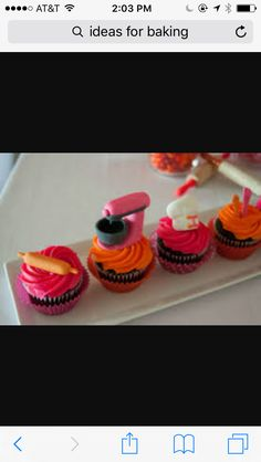 Want to bake a cupcakes and show the steps you did