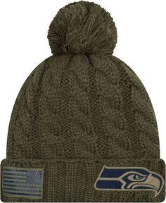 b575a98b9 New Era Women s Salute to Service Seattle Olive Cuffed Knit