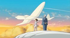 the wind rise gif Miyazaki