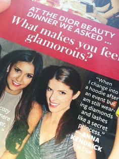 Anna Kendrick: I love her quote in this