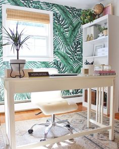 Girl Boss Office Tour - emilyeveryday Source by Modern Office Design, Office Interior Design, Office Interiors, Interior Styling, Home Office Space, Home Office Decor, Home Decor, Office Ideas, Office Inspo