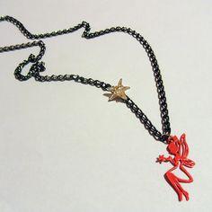 Μενταγιόν χειροποίητο νεράιδα / Handmade necklace pendant fairy - Fluffy Bunny e-shop Fluffy Bunny, Chain, Jewelry, Fashion, Moda, Jewlery, Jewerly, Fashion Styles, Necklaces