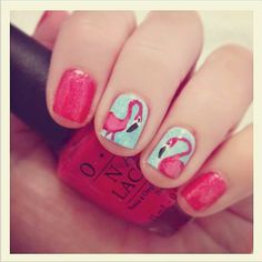 Fun, summer nail art!