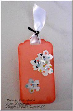Gewellte Geschenkanhänger http://rosiesstempeltraum.blogspot.de/