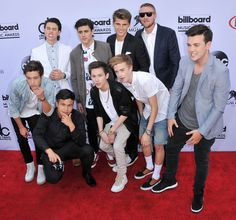 Boys on the red carpet at 2015 billboard music awards