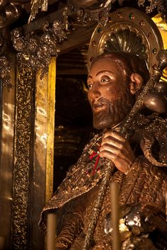 I will walk the Camino in April 2015 Ange Demon, Cathedral City, The Camino, Walk By Faith, Saint James, Statue, World Of Color, Spiritual Inspiration, Spain Travel