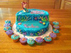 Ariel Birthday Cake for Kaleas 3rd Bday