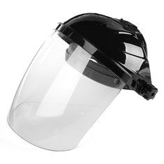 New Transparent Lens Anti-UV Anti-shock Welding Helmet Face Shield Solder Mask Face Eye Protect Shield Anti-shock