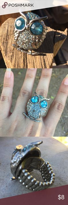 Owl Adjustable Ring 🦉🍂 Jewelry Rings