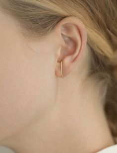 If there's a single designer that dominates my jewelry collection right now, it would be Kathleen Whitaker. The addiction beganwith her signature gold, staple earring - perfect in itselegant simplicity. Since then, I've added several more pieces to myrepertoire. And yes, I've even added more