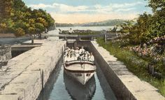 Morris Canal Brooklyn Lock - Lake Hopatcong Lake Hopatcong, Family Room Walls, New Jersey, Brooklyn, History, Photos, Historia, Pictures