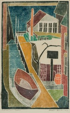 white line woodcut provincetown - Google Search