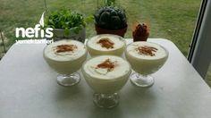 Meşhur Alaçatı Muhallebisi Easy Desserts, Pudding, Recipes, Food, Custard Pudding, Essen, Puddings, Meals, Eten