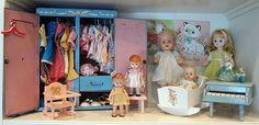 To find...lovely vintage doll wardrobe.