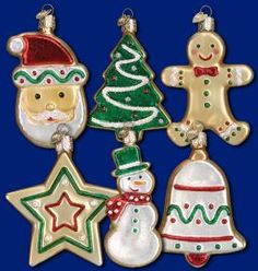 Old World Christmas®️️ Sugar Cookies, set of 6 Ornament at the Official Christmas Ornament Store.com!