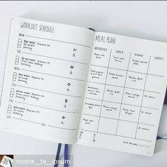 Goede manier om workout + mealplan te combineren voor elke week. Toevoegen is het aantal totaal caloriëen gegeten met smiley voor onder of boven.