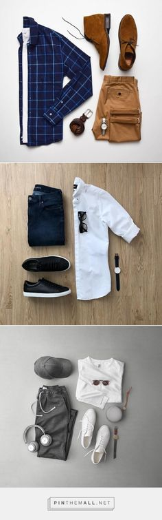 3 Cool Outfit Grids To Help You Look Sharp. #outfitgrids #fashion #style