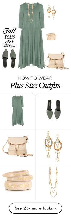 """""""outfit 4841"""" by natalyag on Polyvore featuring Isolde Roth, Warehouse, Tory Burch, See by Chloé and Kate Spade"""