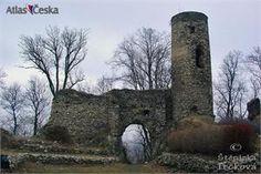 Zřícenina hradu Kostomlaty pod Milešovkou (Sukoslav)