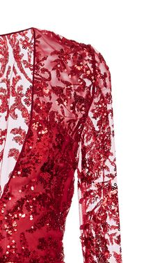 Get inspired and discover Naeem Khan trunkshow! Shop the latest Naeem Khan collection at Moda Operandi. Red Chiffon, Chiffon Gown, Naeem Khan, Evening Outfits, Elegant Chic, Lace Dresses, Formal Dresses, Women Wear, Gowns