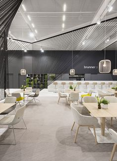 Brunner – Orgatec 2014, Cologne. A project by Ippolito Fleitz Group – Identity Architects.