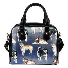 Siberian Husky Handbag