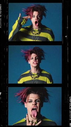 Read 1 from the story YUNGBLUD 🖤🖤 by with 210 reads. Estilo Hipster, Emo Wallpaper, Dominic Harrison, Band Wallpapers, Music Is My Escape, Image Manga, Black Heart, Celebs, Celebrities