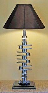 Car Parts - Upcycle Reuse Recycle Repurpose DIY / Crankshaft Lamp
