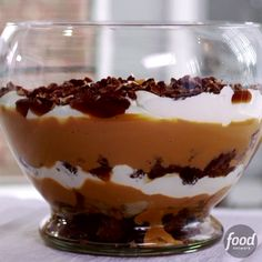 Sandra's Caramel Banana Bread Trifle is so sweet and satisfying that it gives traditional bread pudding a run for its money.