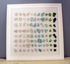 This summer I am going to do something with all the sea glass we have collected over the years ....
