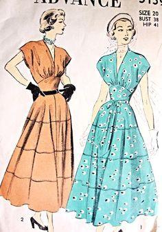 Evening dress patterns vintage zildjian