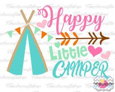 SVG Eps Dxf & Png Cutting Files For Happy by Timetocraftshop