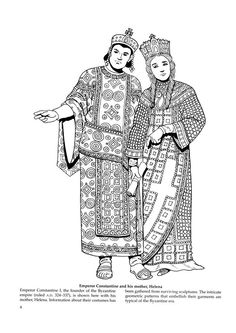 byzantine fashions 9 byzantine fashions kids printables coloring pages byzantine for sca. Black Bedroom Furniture Sets. Home Design Ideas