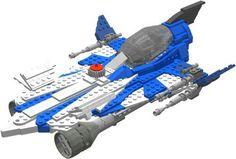 Lego Anakin's modified starfighter