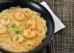 Recipe: Shrimp Miso Noodle Soup