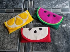 Oh Sew Cute Sewing Challenge Project 1: Fruit Sunglasses Case | National Sewing Circle