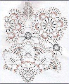 Home Decor Crochet Patterns Part 25 - Beautiful Crochet Patterns and Knitting Patterns Crochet Doily Diagram, Crochet Rug Patterns, Filet Crochet Charts, Crochet Circles, Crochet Doily Patterns, Crochet Designs, Crochet Books, Crochet Home, Thread Crochet