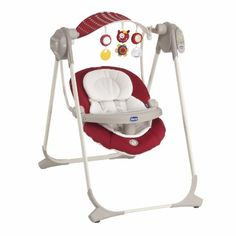 #puericultura 79110.70 CHICCO SDRAIETTA ALTALENA POLLY SWING-UP RED