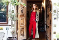 Adventures in Interior Design: Let Model Erin Wasson Teach You How to Decorate with Trash - http://www.interiordesign2014.com/decorating-ideas/adventures-in-interior-design-let-model-erin-wasson-teach-you-how-to-decorate-with-trash/