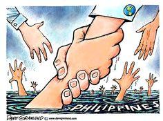 Dave Granlund on the Philippines typhoon.