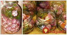 Starý a veľmi zdravý recept bez zavárania: Vyskúšajte nakladaný cesnak so zeleninou na kyslo! Polish Recipes, Preserving Food, Canning Recipes, Preserves, Pickles, Cucumber, Food And Drink, Tasty, Favorite Recipes