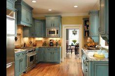 Kitchen reno colors