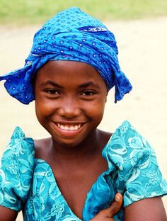 A beautiful face from Liberia. A place we love so well.